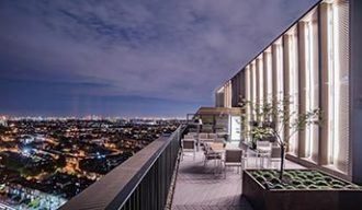 Penthouse social space - Essential Living