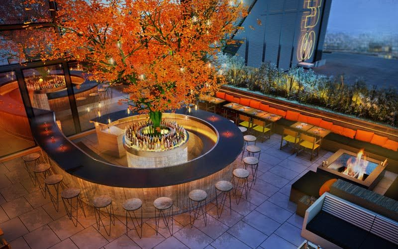 Best rooftop bars - SUSHISAMBA