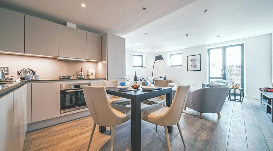 a pet friendly flat to rent from Essential Living