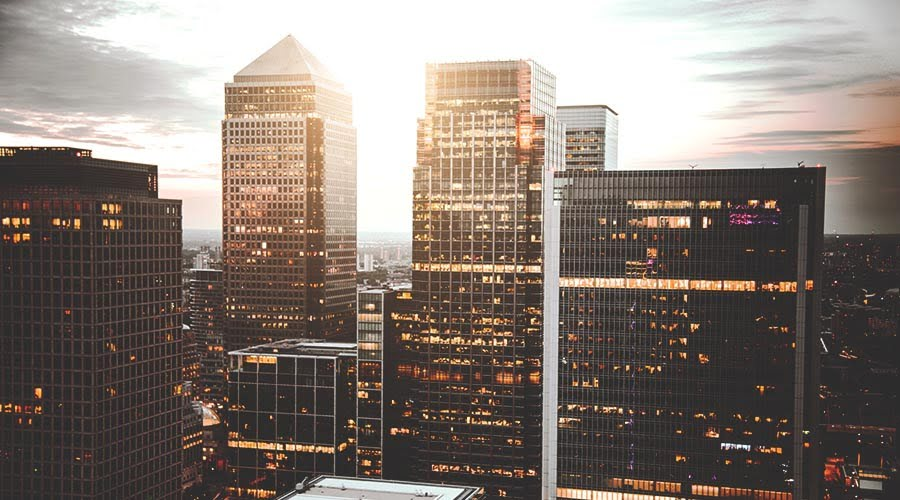 Canary Wharf, one of the best places to live in East London