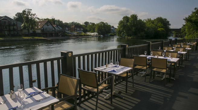 Blue River Cafe, living in Maidenhead