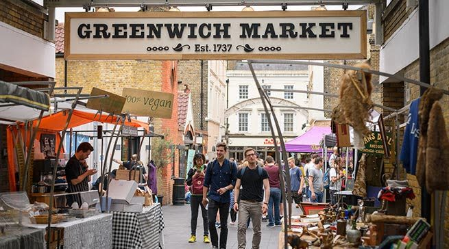 Greenwich Market - Living in Greenwich