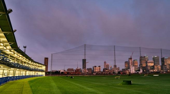 Greenwich Peninsula Golf Driving Range - Living in Greenwich