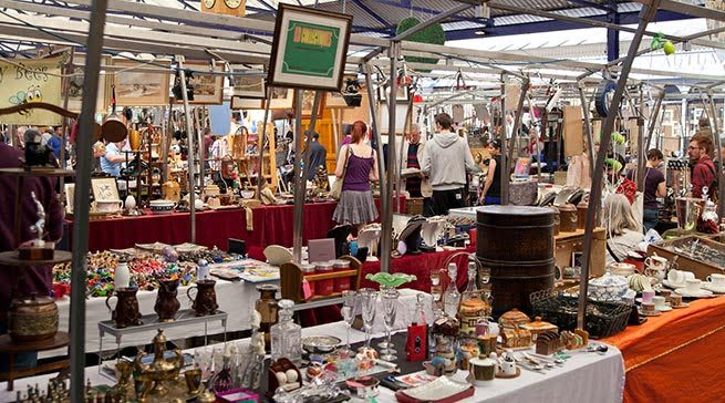 Greenwich Vintage Market - Living in Greenwich