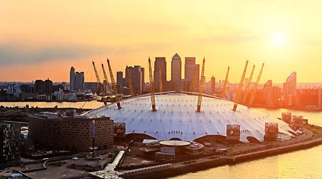 The O2 Arena - Living in Greenwich