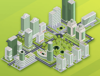 , The Greenest Cities Mapped