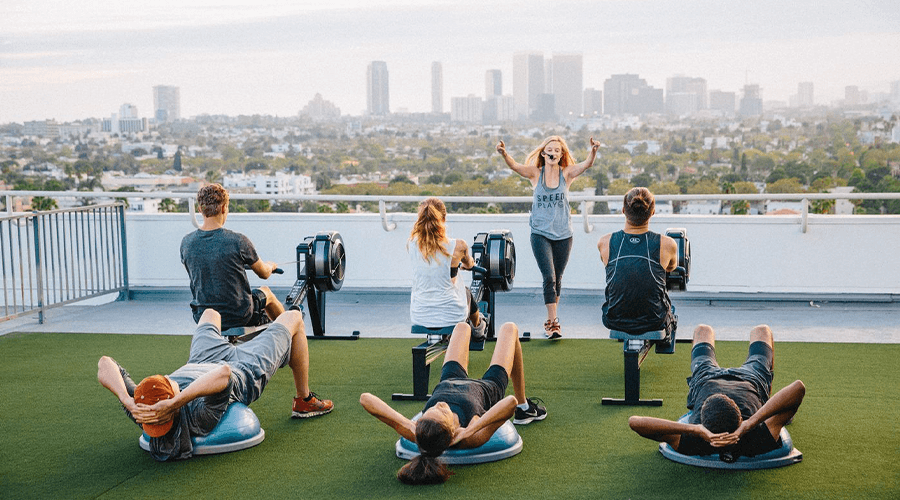 London Rooftop Gym