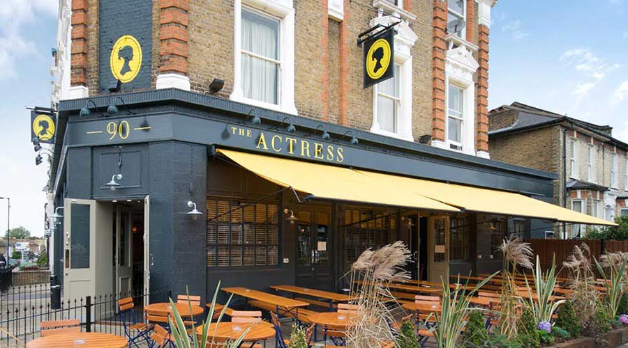 The Actress, Pet Friendly Pub in South London