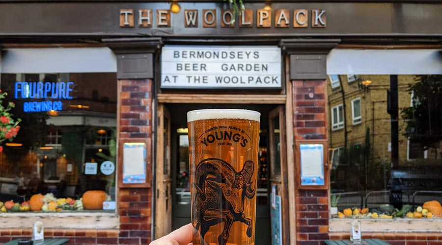 The Woolpack, Pet Friendly Pub in South London