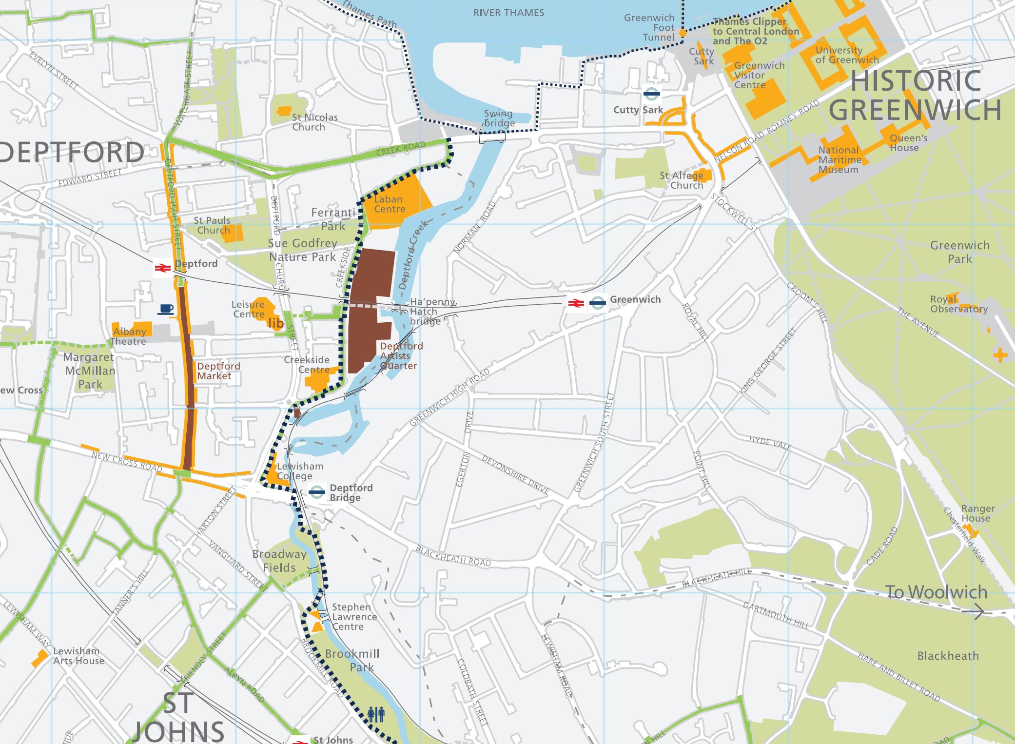 Waterlink Way cycle route